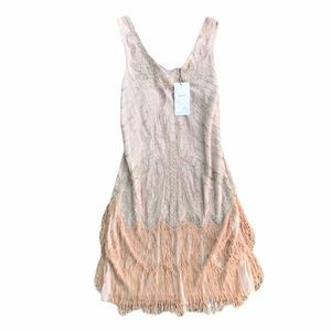 Babeyond Flapper Dress w/ Beading and Fringe